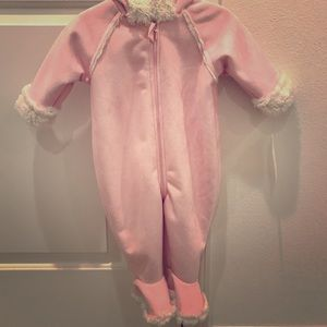 Nordstrom baby hooded footed bunting